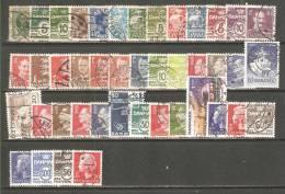 DK09 - DANIMARCA - Lotticino 1905/1983 - (o) - Lotes & Colecciones