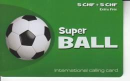 International Calling Card - Super Ball - Sport