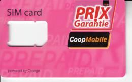 Carte GSM Sans Carte SIM - CoopMobile - Opérateurs Télécom
