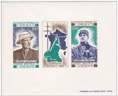 """Cameroun Feuillet Gomme N°164A  PAR AVION """"G.de Gaulle"""" - Camerun (1960-...)"""