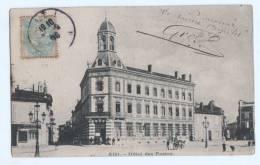 "CPA  Animée  Tarn 81  "" Albi - Hôtel Des Postes "" - Albi"