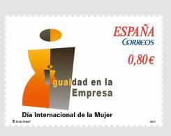 ESPAÑA 2011 - DÍA INTERNACIONAL DE LA MUJER - Edifil Nº 4644 - 1931-Oggi: 2. Rep. - ... Juan Carlos I