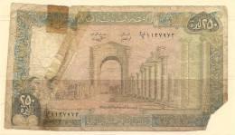 Libano - Banconota Circolata Da 250 Livres - Libano