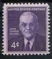 202747303 USA POSTFRIS MINT NEVER HINGED POSTFRISCH EINWANDFREI SCOTT   1172 JOHN FOSTER DULLES MEMORIAL - United States