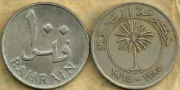 BAHRAIN 100 FILS INSCRIPTIONS FRONT PALM TREE EMBLEM BACK DATED 1385-1965  KM6? READ DESCRIPTION CAREFULLY !!! - Bahreïn