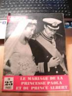 CB1 Le Soir Illustré  Le Mariage De La Princesse Paola Et Du Prince Albert Juillet 1959 - Livres, BD, Revues