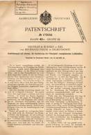 Original Patentschrift - Neufeldt & Kuhnke In Kiel Und Delmenhorst , 1905 , Schiffskompaß , Kompaß , Kompass , Schiff !! - Technics & Instruments