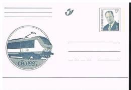 Carte 63 Neuve Locomotive De La SNCB - Stamped Stationery