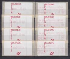 België, 39 S1 **, 143002 Brussel 4 (ATM001) - ATM - Frama (vignetten)