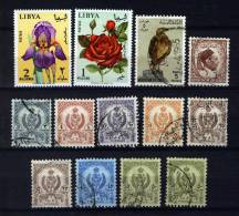 Libya / Libië / Libyen, Small Lot With Used Stamps (o) - Libië