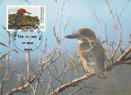 WWF - 093,31 - CM-MC - € 1,00 - 19-2-1990 - 10c - Birds Of Micronesia - Micronesia 1105212 - Micronésie