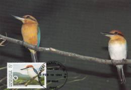 WWF - 093,32 - CM-MC - € 1,06 - 19-2-1990 - 15c - Birds Of Micronesia - Micronesia 1105212 - Micronésie