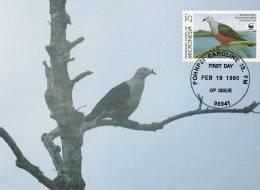 WWF - 093,34 - CM-MC - € 1,19 - 19-2-1990 - . - Birds Of Micronesia - Micronesia 1105212 - Micronésie