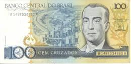 BRASIL. CEM CRUZADOS. BANCO CENTRAL DO BRASIL BOM ESTADO CUAC - Brazil