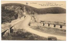 La Gileppe (Jalhay). Le Barrage Et Le Lac. Hauteur: 47 M. Etendue Du Lac: 800.000 M. Carrés. Retenue Eaux: 13.267.953 M3 - Gileppe (Barrage)