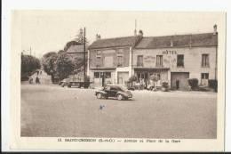 SAINT-CHERON , AVENUE ET PLACE DE LA GARE - Saint Cheron