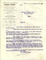 CHASSART   DUMONT FRERES  Exploitation Agricole Fabrique De Sucre ....   ..  ...7.10.1940 - Belgique