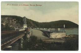 La Gileppe (Jalhay). Souvenir. Vue Du Barrage. Aandenken. Zicht Op De Stuwdam. Cachet: Verviers (Ouest) 1909. Timbre 56. - Gileppe (Barrage)