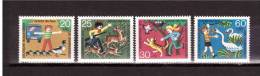 1972 GERMANY  Youth For Animal Protection MIchel Cat N° 711/14  Absolutely Perfect MNH ** - Childhood & Youth