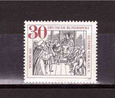 1971 GERMANY  Worms  1521  Luther Vor Karl MIchel Cat N° 669  Absolutely Perfect MNH ** - Childhood & Youth