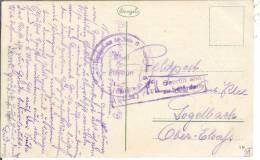 De Kolberg D´un Soldat Alsacien à Sa Famille Censure De Colmar Pour Logelbach Elsass - Poststempel (Briefe)