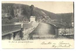 La Gileppe (Jalhay). Pont Du Barrage. Brig Van De Stuwdam. Cachet - Stempel: 1903. Timbre - Postzegel N° 56. - Gileppe (Barrage)