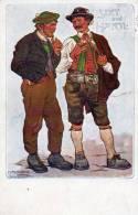 Sixt Und Harte Old Postcard - Bandes Dessinées