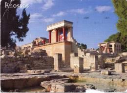 GRECIA - Cartolina Viaggiata Nel 2011 - Creta - Knossos - - Grecia