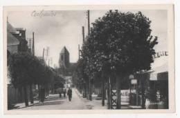 OUISTREHAM - RIVA BELLA - L'Avenue Michel Cabieu Et L'église - Ouistreham