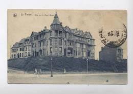 La Panne : Villa Sur Le Mont Blanc -PLAGE - RERCTO / VERSO   -- --100.14 - De Panne