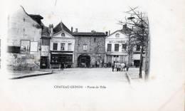 [58] Nièvre > Chateau Chinon Porte De La Ville - Chateau Chinon