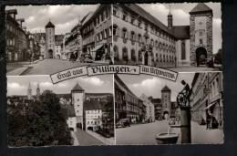 D2370 Gruss Aus Dillingen Im Schwarw / Hersteller Und Verlag Schoning E Co. - 1980 Or 1960 ? - Old Mini Card - Dillingen