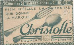 France - Couverture De Carnet Vide - S185 SA, Couverts, Orfèvrerie, Lin, Pharmacie, Médicament, école - Usage Courant