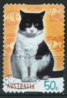 Australie 2004 - Chat Noir Et Blanc ( Cat Black And White ) - 2000-09 Elizabeth II