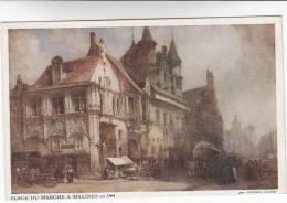 Mechelen, Place Du Marché A Malines En 1884 (pk8339) - Mechelen