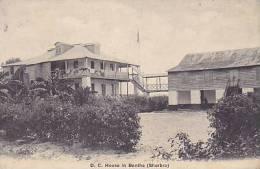 Sierra Leone - D.C. House In Bonthe (Sherbro) (rare, 1911, Animation) - Sierra Leone
