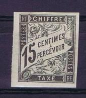 Colonies Francaises:  Taxe Yv. 7 MH/*