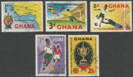 Ghana. 1959 West African Football Competition. Used Complete Set - Ghana (1957-...)