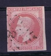 Colonies Francaises: Yv Nr 10 Used Obl, Maury Cat Valeur 145 Euro - Napoleon III