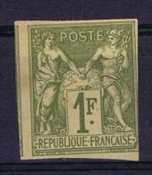 Colonies Francaises: Yv Nr 29 Not Used (*)