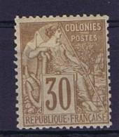 Colonies Francaises: Yv Nr 55 MH/*