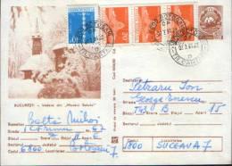 Romania-Postal Stationery Postcard 1982- Bucharest-Village Museum - Museums