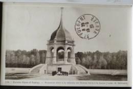 Sainte Anne D´ Auray Militaria Photo Monument Mort Guerre Bretons Loic Voyagé 1939 Timbre De Hargues Chateau St Fulgent - Monuments Aux Morts