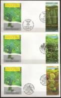 ONU - FDC    Survie Des Forêts,  Les 3 Bureaux - UNO