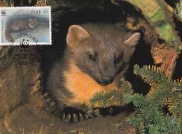 WWF - 130,33 - CM-MC - € 1,12 - 9-7-1992 - 44 - Pine Marten - Ireland 1128212 - W.W.F.