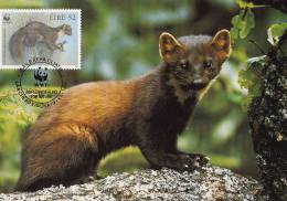 WWF - 130,34 - CM-MC - € 1,19 - 9-7-1992 - 52 - Pine Marten - Ireland 1128212 - W.W.F.