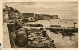 N°28896 -cpa Arromanches Les Bains --le Port De La Libération- - War 1939-45