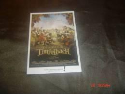 AFFICHE DU FILM  LES ENFANTS DE TIMPELBACH - Affiches Sur Carte