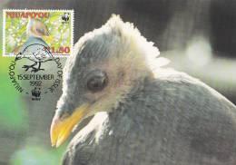 WWF - 132,34 - CM-MC - € 1,19 - 15-9-1992 - Ts1.50 - Niuafo´ou Megapode - Niuafo´ou 1144212 - W.W.F.