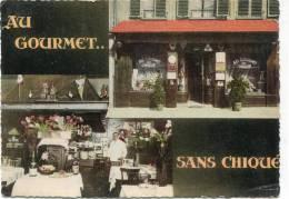 CPSM 67 STRASBOURG RESTAURANT AU GOURMET SANS CHIQUE RUE ST BARBE  Grand Format - Strasbourg